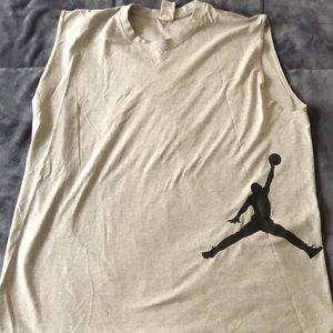Jordan sleeveless shirt